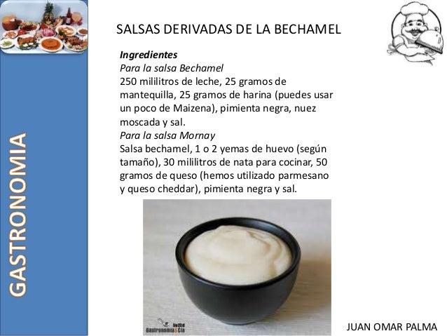 Salsas derivadas - Bechamel con nata para cocinar ...