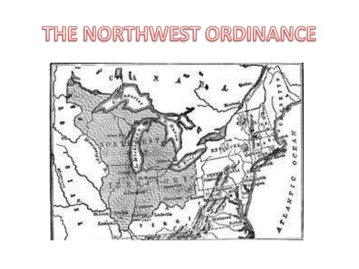 THE NORTHWEST ORDINANCE<br />
