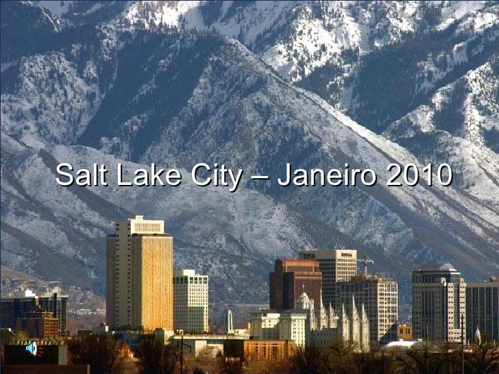 Salt Lake City – Janeiro 2010