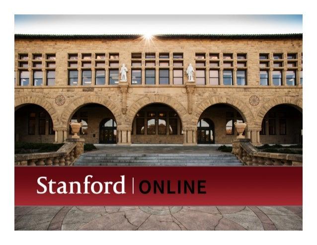 Overview of Innovations in  Online Courses  Andy J. Saltarelli, Ph.D.!  VPOL Instructional Designer!  vpol.stanford.edu | ...