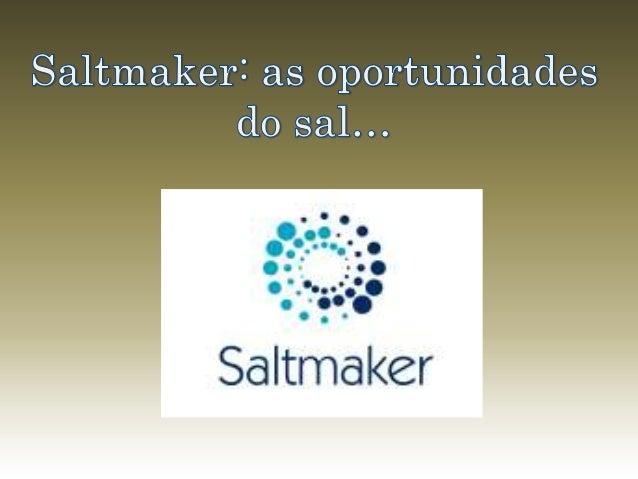 Adição de Ingredientes ao Sal
