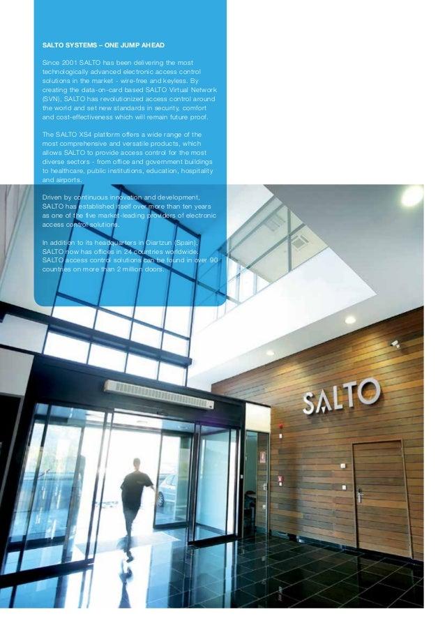 Salto verticals market segments rfid svn wireless access