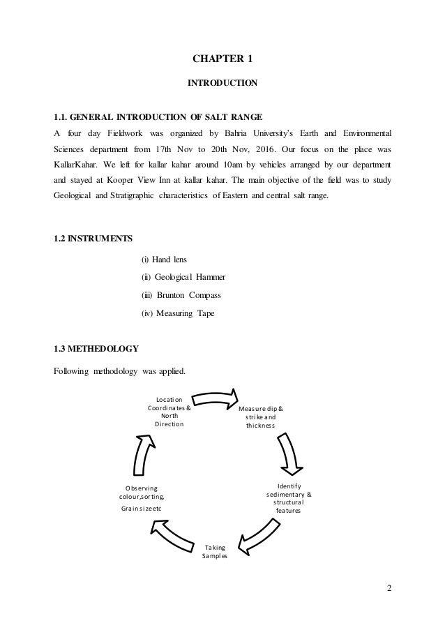 Internship Report 2011 ALL 2003