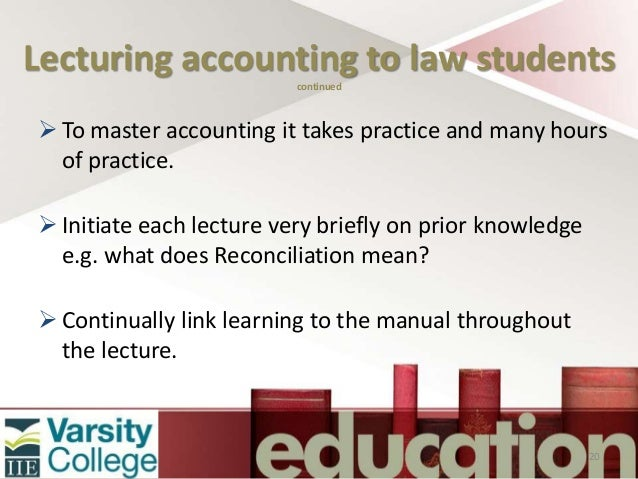 Career advice: Accounting versus law