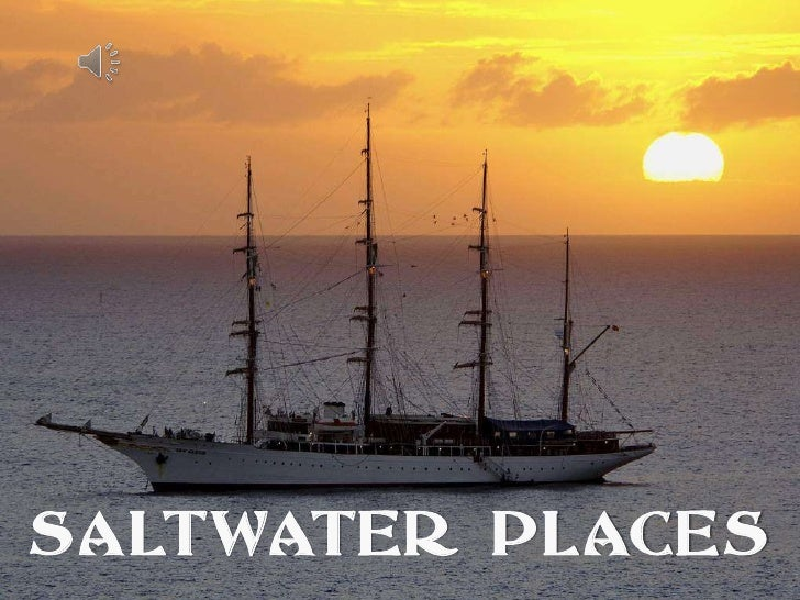 SALTWATER PLACES<br />