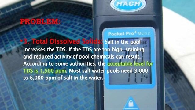 Salt Water Pool System Problems