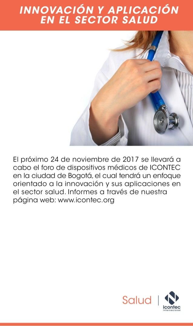 Innovación y aplicación en el sector salud