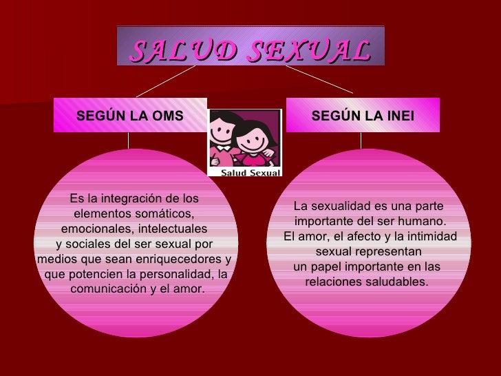 Derechos sexuale y reproductivos oms