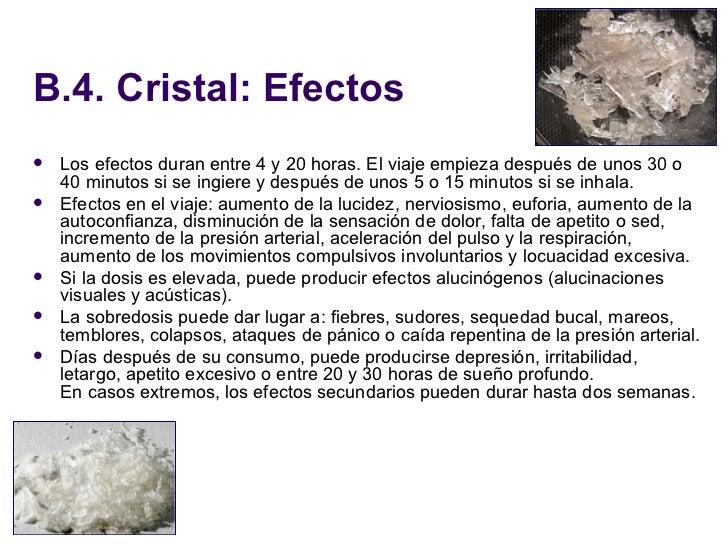 Efectos del cristal