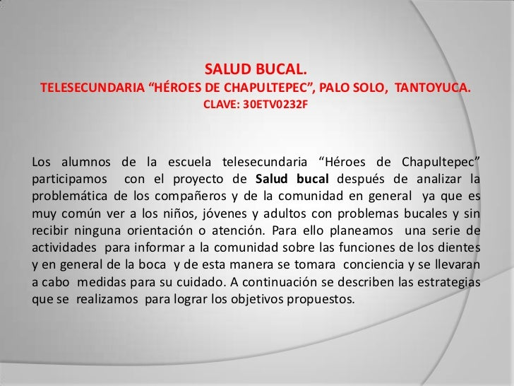 Salud bucal Slide 2