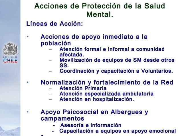 Líneas de Acción: • Protección de Funcionarios de Salud. • Comunicación social • Coordinación Intersectorial • Capacitació...