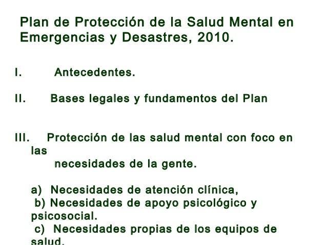 IV. Objetivo general. IV. Objetivos específicos. IV. Etapas y funciones del Plan. 1. Etapa Preparatoria. 2. Etapa Crítica ...