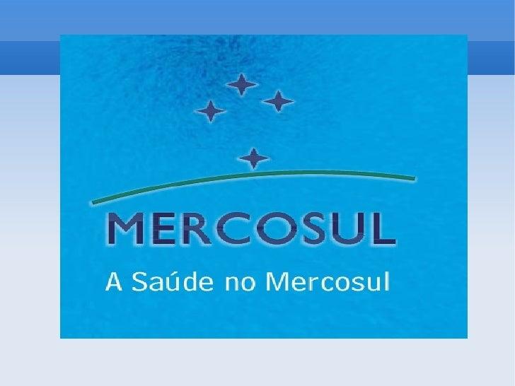 O que é?O Mercado Comum do Sul é um bloco econômico constituído pararealizar a liberação de comércio de bens e de serviços...