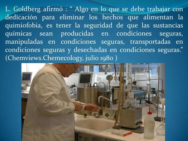 Salud ocupacional ...... factores determinantes de riesgo por agetes quimicos