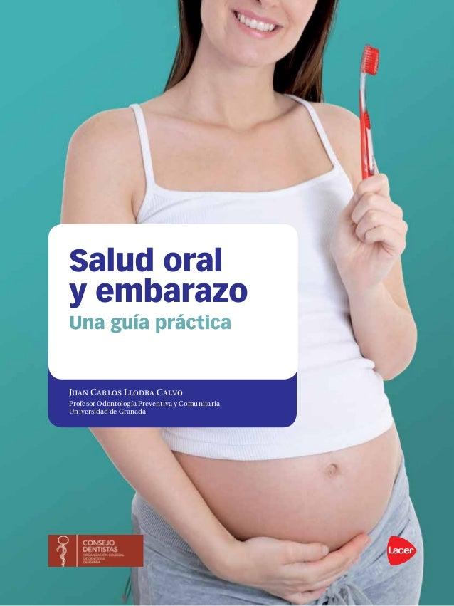 Juan Carlos Llodra Calvo Profesor Odontología Preventiva y Comunitaria Universidad de Granada Salud oral y embarazo Una gu...
