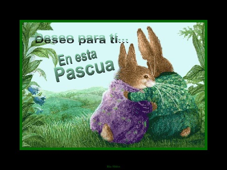 Pascua En esta Deseo para tí...