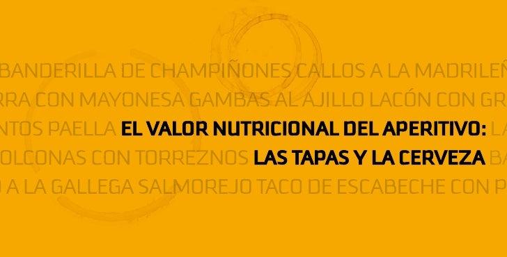 Estudio de la composición nutricional de tapas españolas acompañadas con cerveza                        n nutricional de t...