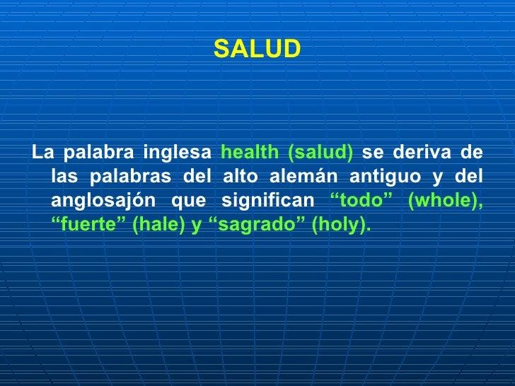 Salud Y Enfermedad  Determinantes De Salud  NocióN De Riesgo Slide 2