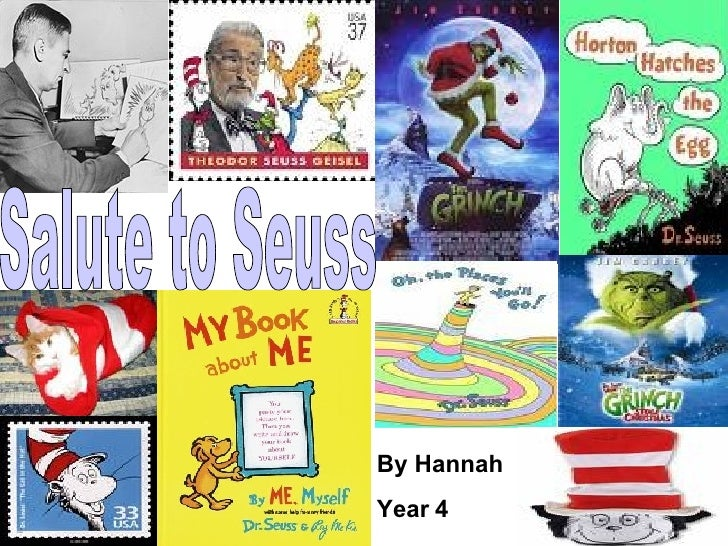 Salute to Seuss By Hannah Year 4
