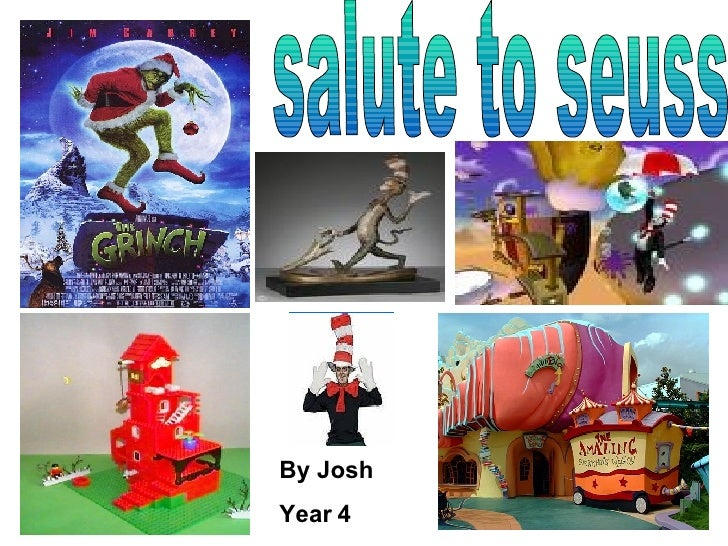 salute to seuss By Josh Year 4