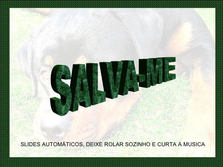 SALVA-ME SLIDES AUTOMÁTICOS, DEIXE ROLAR SOZINHO E CURTA A MUSICA