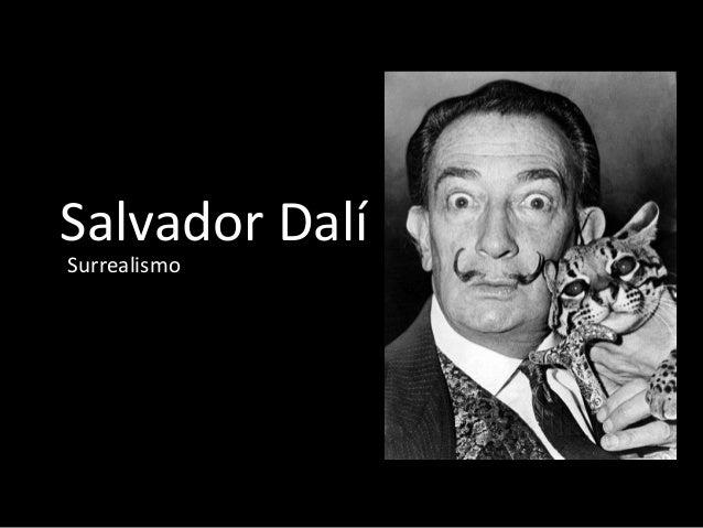 Salvador Dalí Surrealismo