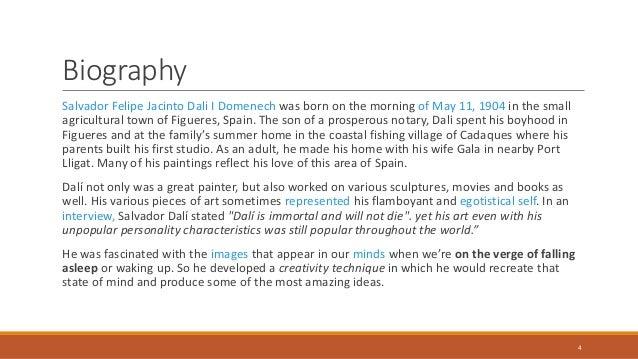 A brief on Salvador dali