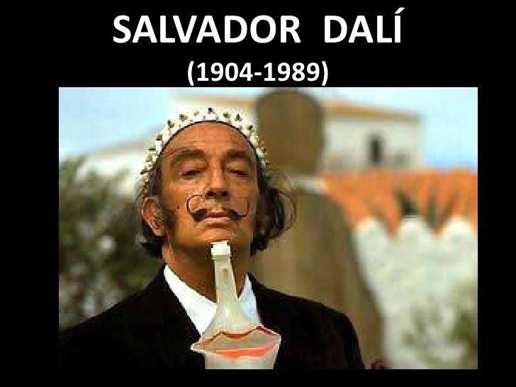 SALVADOR  DALÍ(1904-1989)<br />