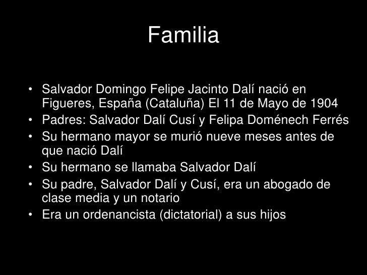 Salvador dali powerpoint.presentacion Slide 2