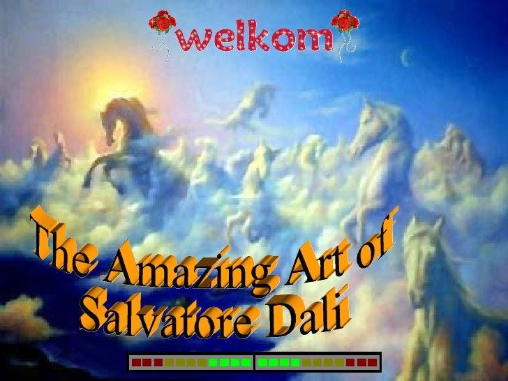 The Amazing Art of Salvatore Dali
