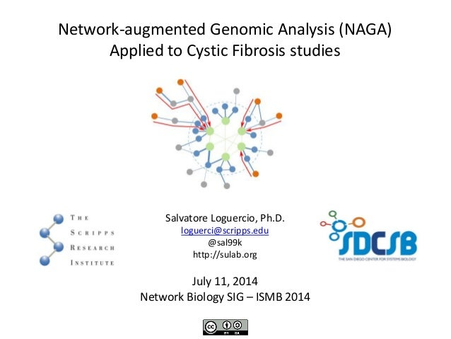 Network-augmented Genomic Analysis (NAGA) Applied to Cystic Fibrosis studies Salvatore Loguercio, Ph.D. loguerci@scripps.e...