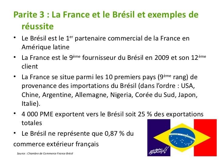 Salveo pr sentation br sil par emilie dupr for Chambre de commerce france bresil