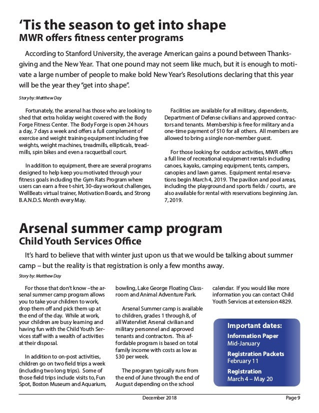 Newsletter from the U S  Army's Watervliet Arsenal