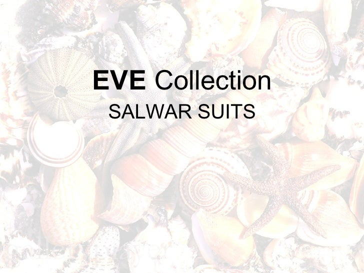 EVE   Collection SALWAR SUITS