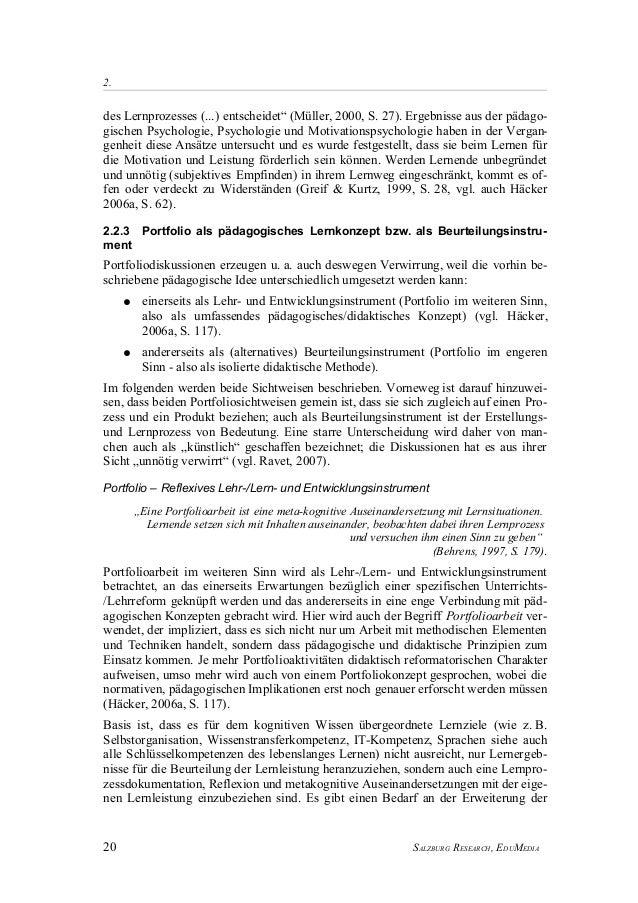 Salzburgresearch Grundlagen E Portfolios