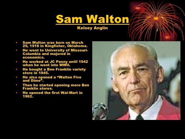 Sam Walton Slideshow