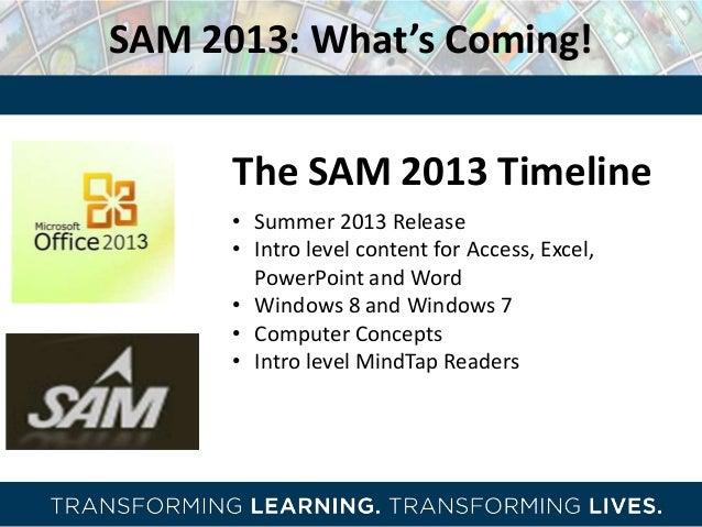 Cengage learning digital road shows 2013 sam sam 2013 fandeluxe Choice Image