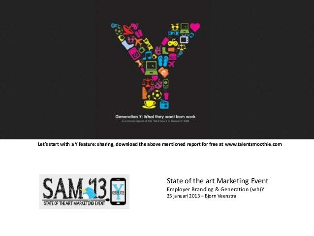 Let's start with a Y feature: sharing, download the above mentioned report for free at www.talentsmoothie.com             ...
