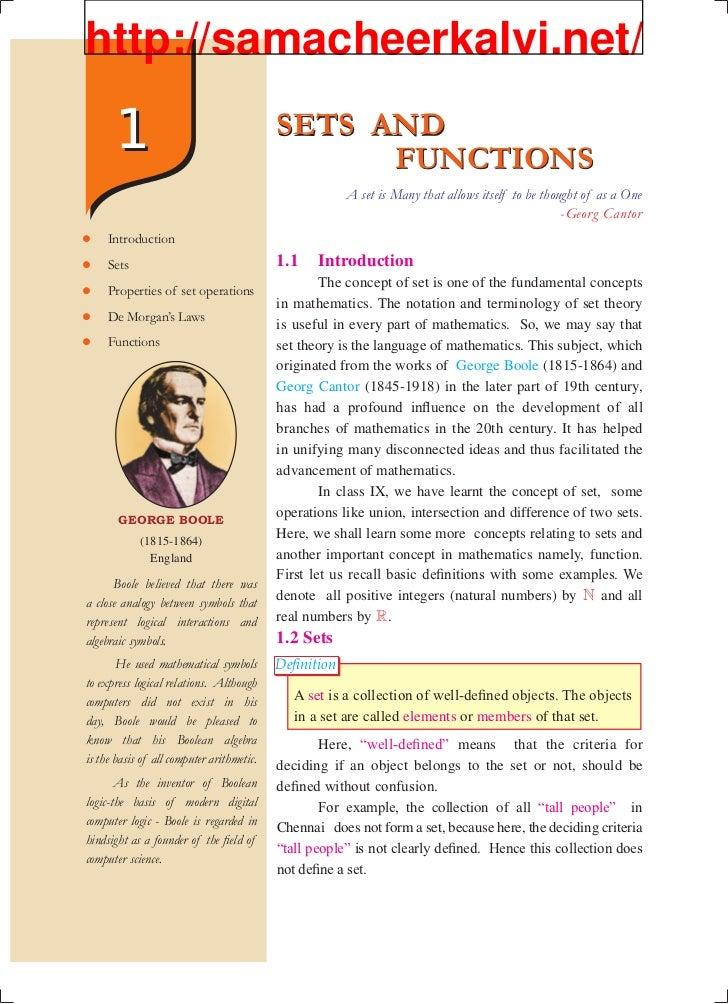 Samacheer Kalvi Book Back Questions