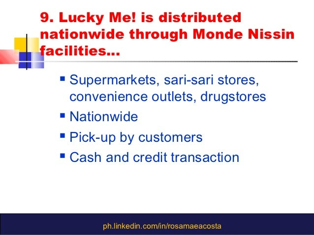 monde nissin corporation financial statements