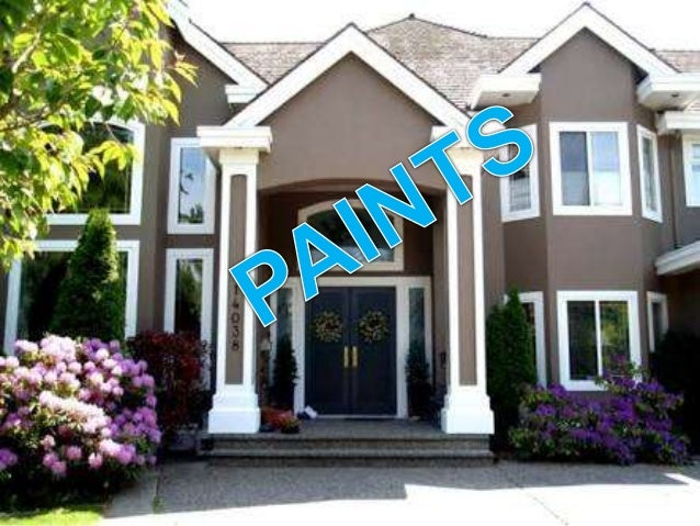 CONTENTS  Objects  Characteristics of idael paint  constituent of oil paint  Types of paint  Painting brush  Priming...