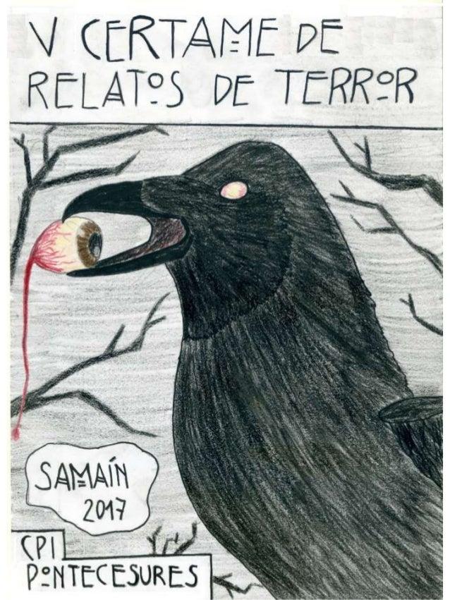 Cartel gañador do Samaín 2017 do CPI de Pontecesures