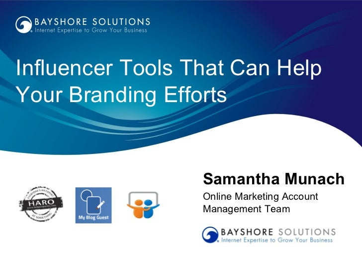 Influencer Tools That Can Help Your Branding Efforts
