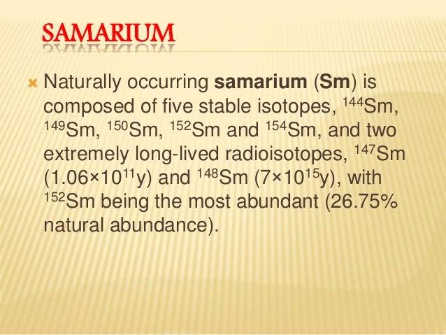 Neodymium dating