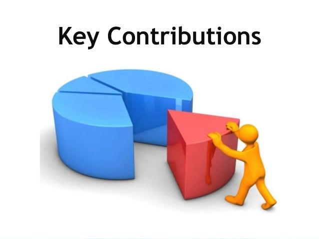 Key Contributions