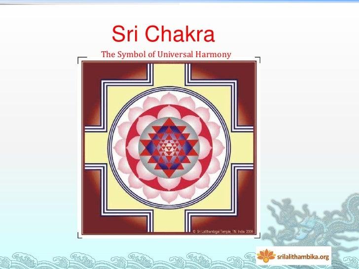 Sri ChakraThe Symbol of Universal Harmony