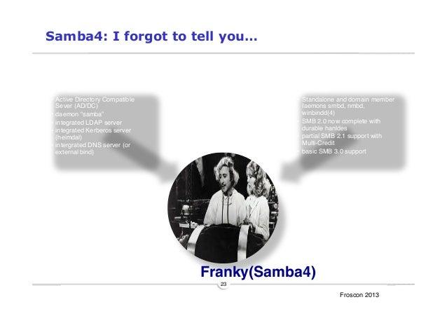 Samba4 Introduction