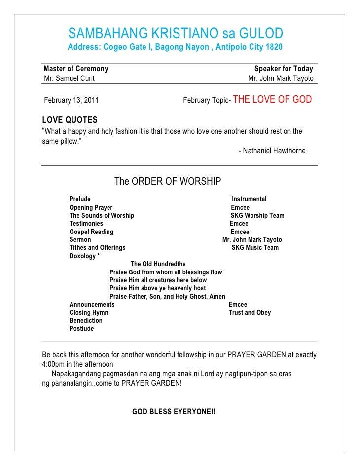 SAMBAHANG KRISTIANO sa GULOD<br />            Address: Cogeo Gate I, Bagong Nayon , Antipolo City 1820<br /> Master...