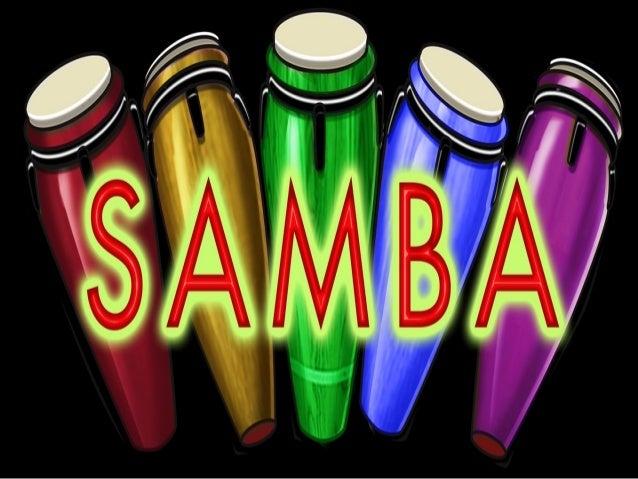 O samba, como conhecemos  atualmente, tem origem afro-  baiana, temperado com  misturas cariocas. Nasceu da  influência de...