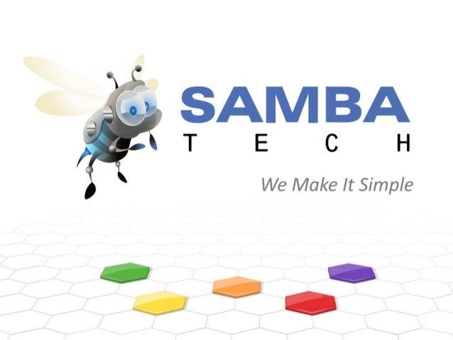 Apresentação Sambatech